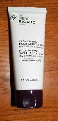 DR P.RICAUD - CREME MAINS MULTI ACTIVE 3 EN 1 -MAINS SECHES ABIMEES- 75 ml -NEUF