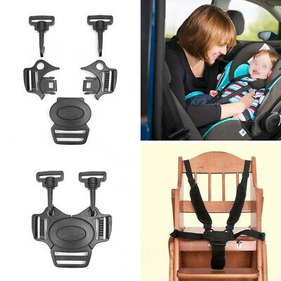 5-Point Safe Baby Kids Harness Seat Belt Strap Portable Stroller High Chair  ♪