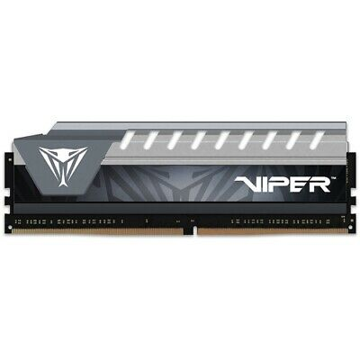 NEW PATRIOT PVE48G266C6GY, VIPER ELITE GAMING OC 8GB (1X8GB) DDR4 2666MHZ, D.a.