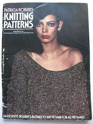 Patricia Roberts : Knitting Patterns (1977)