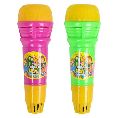 Echo Microphone Mic Voice Changer Toy Gift Birthday Present Kids Party Song CO