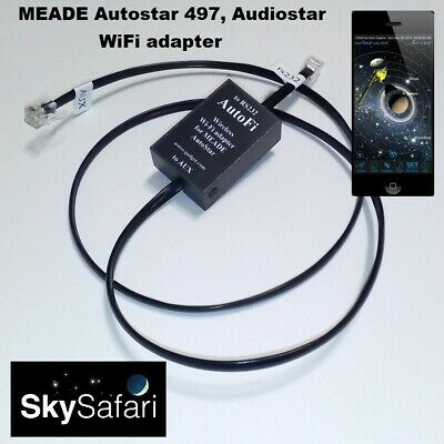 AutoFi - MEADE Autostar 497, Audiostar WiFi adapter