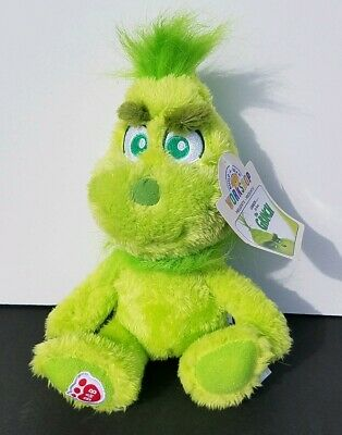 Build A Bear Young Baby little lil Grinch 8in. Mini Stuffed Plush Sold Out