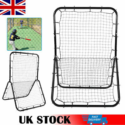 Double-sided Rebounder Elastic Net Adjustable Football Training Passing Shooting