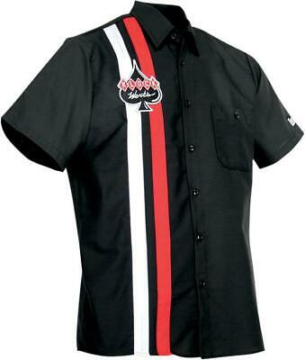 Throttle Threads Klock Werks Shop Shirt Black X-Large