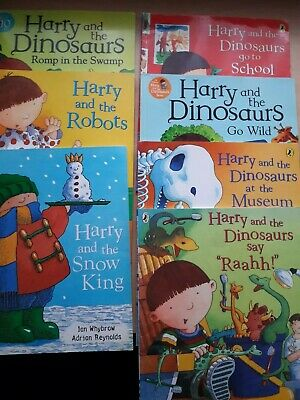 Harry And The Dinosaurs books paperback  Collection