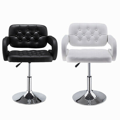Quilted Leather Style BarBer Chair Beauty Hairdresser Salon Beauty Black / White