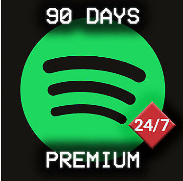 Spotify Premium Personal for 90 days (3 months)