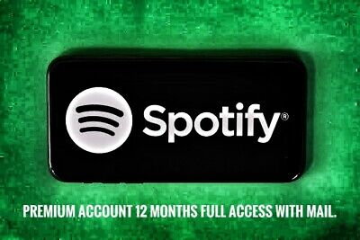 🔥Spotify Premium New Account 12 Months / 1 year Upgrade   Instant   Warranty🔥