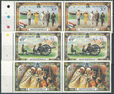 Commowelth Stamps - Silver Jubilee Lot Stamps (Mixture) - unused unmounted.