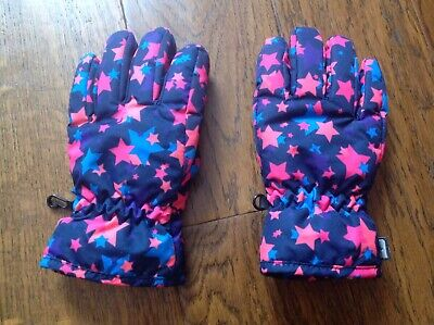 Printed ski gloves for kids from Mountain Warehouse. Size M. Very good condition