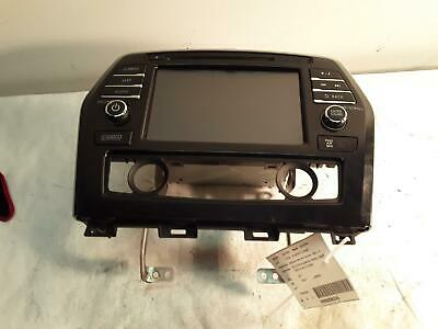 2017-2018 Nissan Maxima Receiver And Screen W/Navi Tested