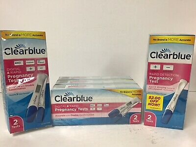 5 Clearblue Digital rapid pregnancy tests NEW Exp. 7/21 Total    Tests 10