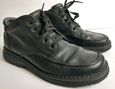 Clarks Men's Gore-Tex Active Air Black Pebbled Leather Chukka Ankle Boots Sz 9M