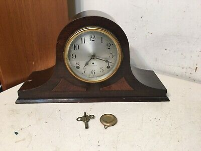 Antique Seth Thomas Cymbal #6 Quarter Hour Bim Bam Chime Tambour Mantle Clock