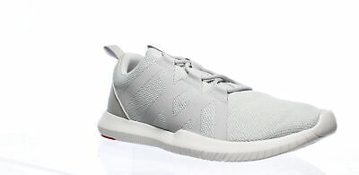 Reebok Mens Reago Pulse Grey/White/Red Cross Training Shoes Size 12