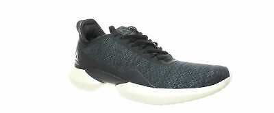 Reebok Womens Interrupted Sole Black/Cdgry7/Clawht Running Shoes Size 8