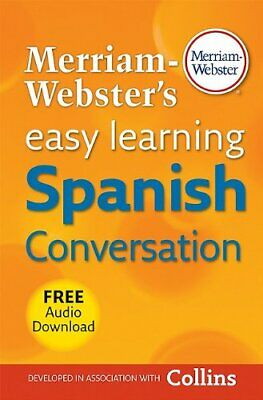 NEW - Merriam-Webster's Easy Learning Spanish Conversation