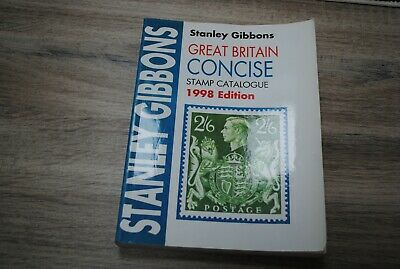 Stanley Gibbons Great Britain Concise Stamp Catalogue 1998 edition
