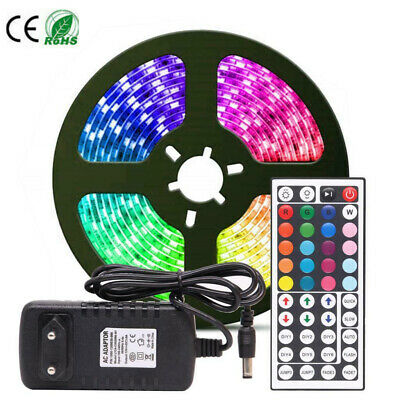 1~10M Smd5050 Rgb 30 Led Strip Lights Colour Changing Flexbile Tape Lighting 12V