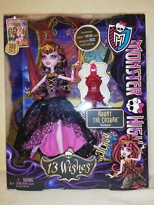 Monster High Draculaura 13 Wishes 2012 BNIB. MAGICAL SET IN GREAT CONDITION!