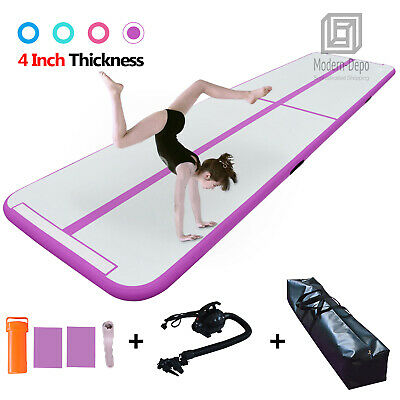 Inflatable Air Track Gymnastics Tumbling Mat Floor Mat with Pump for Training