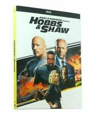Fast And Furious Presents HOBBS & SHAW DVD New & Sealed Free Shipping Included