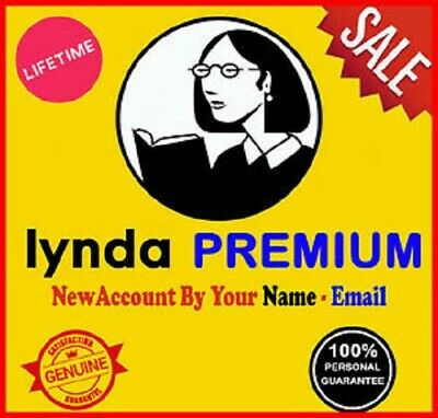 ✅LYNDA Lifetime Premium Account✅Full Access All Courses✅ Fast Delivery ✅