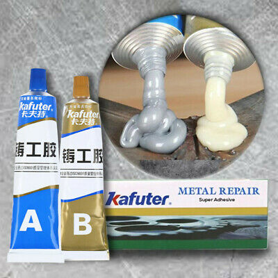 Industrial Heat Resistance Cold Weld Metal Repair Paste 100g/SET