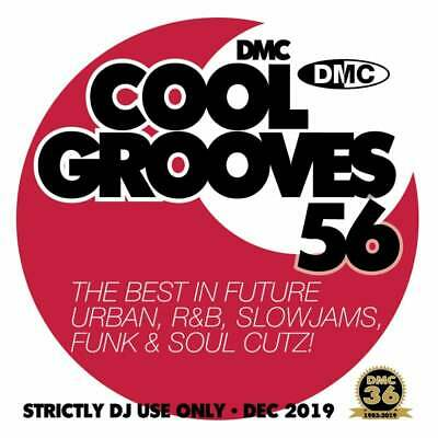 Cool Grooves Vol 56 Chart Hits in Urban, RnB, Jazz, Soul and Funk DJ CD