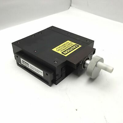 """Parker 008-5233 linear Positioning Stage, Travel: 4"""" Stage Dimensions 6"""" x 6"""""""