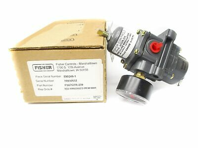 Fisher Fs67Cfr-239 0-160Psi Nsmp