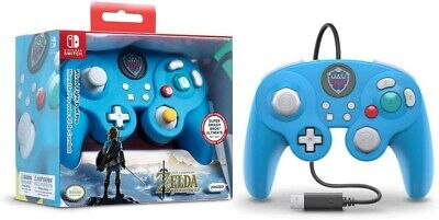 PDP Nintendo Switch Legend of Zelda GameCube Style Wired Fight Pad Controller
