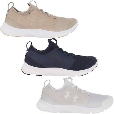 Under Armour Mens Drift Run Mineral Lace Up Gym Running Trainers Sneakers Shoes