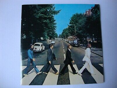THE BEATLES - ABBEY ROAD (remastered) (1987) CD Album