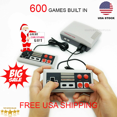 600 Games Built-i Mini Classic HDMI Game Console Entertainment Christmas Gift