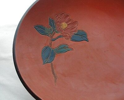 Awesome RYUKYU NATSUME Japanese LACQUER Wood BOWL Hand Carved 2 Original LABELS