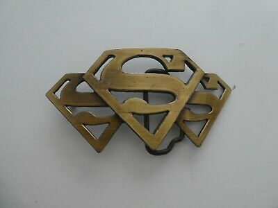 Superman Bronze Buckle  - Metal Colour For Belt