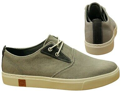 TIMBERLAND HOOKSET OXFORD Beige Fauve Toile Lacet Hommes
