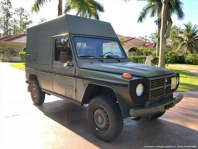 1989 G-Class Puch 230GE 1989 Mercedes-Benz Puch 230GE Automatic Swiss Army