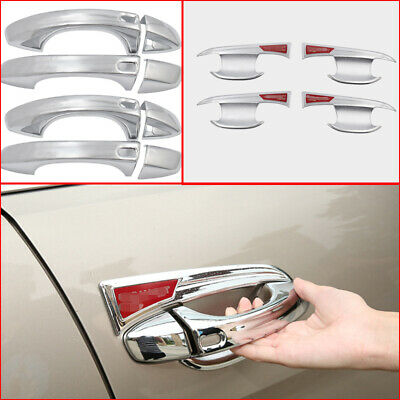 Stainless Door Handle Bowl Cover Cup Overlay For Buick LaCrosse 2016 2017 2018