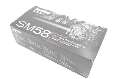 Shure SM58-LC Cardioid Dynamic Microphone -(without on/off)