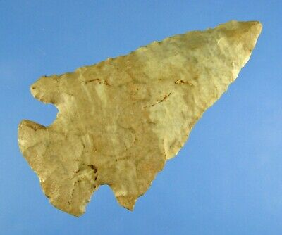 Whalens Artifacts Attractive Kentucky Dovetail Authentic Indian Arrowhead Aaca