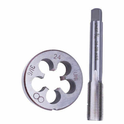 9/16-24 Tap+Die Mold Kit Set HSS Right Hand Taper Metalworking Tool Supplies