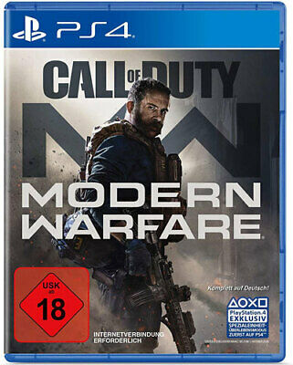Call of Duty Modern Warfare 2019 Playstation 4 NEU & OVP