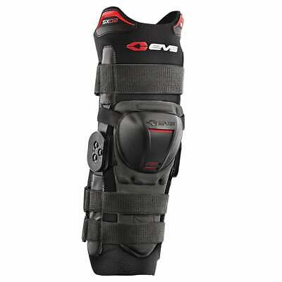 Evs Protection Adult Sx02 Mens Body Armour Knee Brace - Black All Sizes