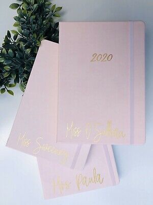 Personalised 2020 Diary A5