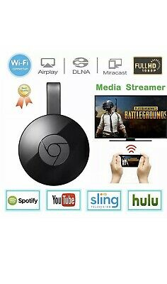Chromecast  Wireless Mirascreen Hdmi Display Dongle Media Video Streamer Tv
