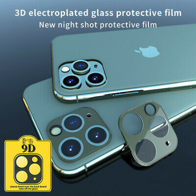 For iPhone 11 Pro Max HD Full Cover Tempered Glass Camera Lens Screen Protector