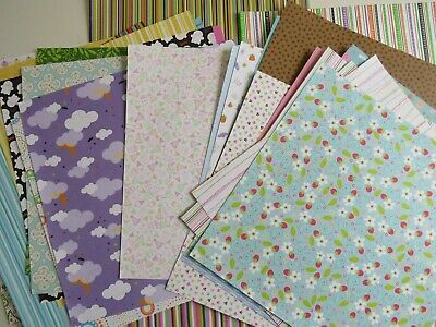 Doodlebug 12 x 12 papers and stickers brand new
